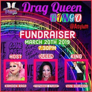 Drag Queen Bingo Fundraiser  Asylum Nightclub