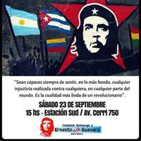 Mural Colectivo  50 aos del asesinato del Che