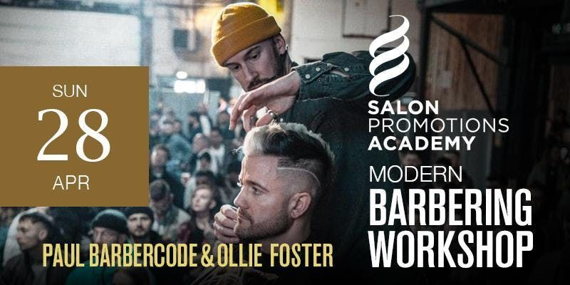 Barnoldswick Modern Barbering Workshop featuring Paul Barbercode and Ollie Foster