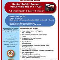 Senior Safety Summit