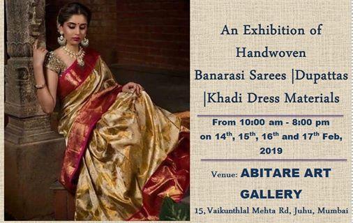 Exhibition Of Banarasi Sarees & DupattasAbitare Art Gallery