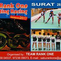 1st Rank One Skating Race