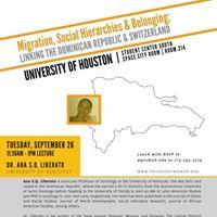 Ana S.Q. Liberato Lecture