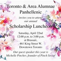 Scholarship Spring Luncheon