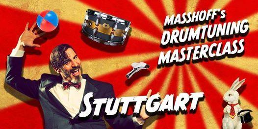 Masshoffs Drumtuning Masterclass Stuttgart