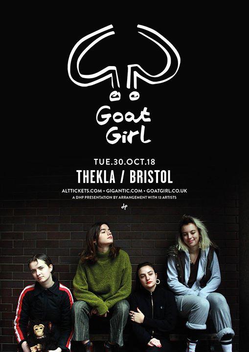 Goat Girl  Sneaks - Thekla - 30.10.18