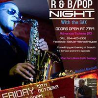 Live R&ampBPop Night With Saxual