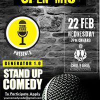 Generator 1.0- Open mic for Stand up Comedy