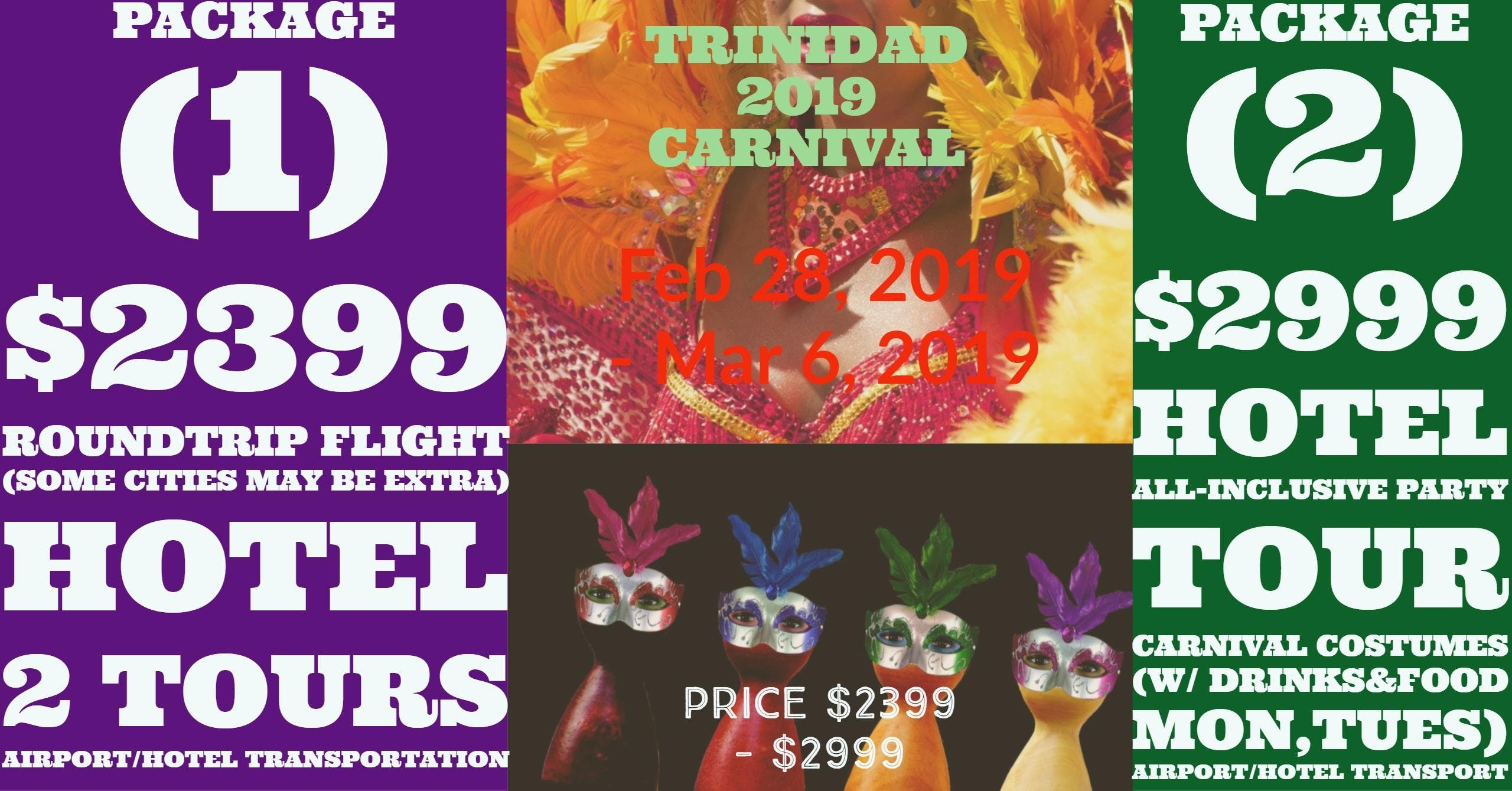 Trinidad Carnival Banners Scrapbooking Banners