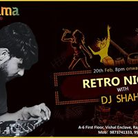 Retro Night With Dj Shahid