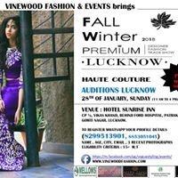 Auditions Fall Winter Premium Designer Trade Show 2018 Lucknow...