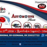 6th Japan Expo &amp Automotive Show 2018 Mandalay