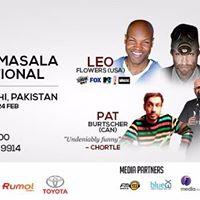 Comedy Masala International  Live in Karachi - FEB 2018