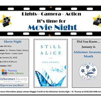 Still Alice Movie Night