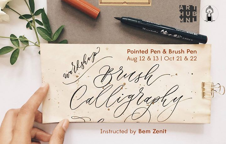 Basic Calligraphy Pointed Pen