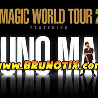 Bruno Mars at Prudential Center in Newark NJ