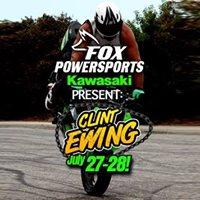 Fox Powersports &amp Kawasaki Present STUNT SHOW  Clint Ewing