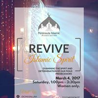 Womens Workshop Series Revive Islamic Spirit