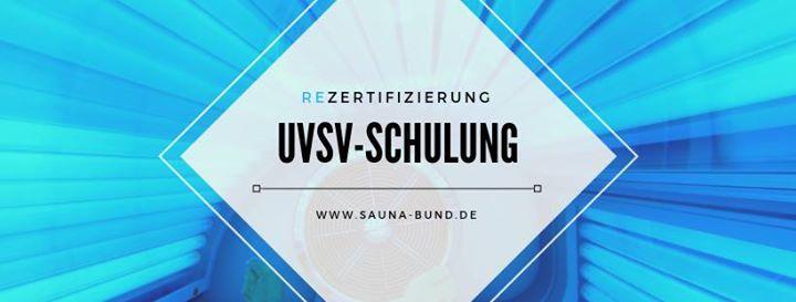 UVSV-Schulung mit Prfung - Rezertifizierung