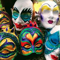 Mask Making Workshop With Artist Becky Truman