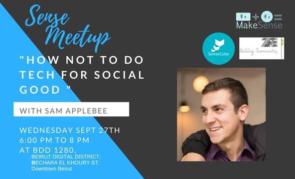 Sense Meetup 2  Tech & Impact Partnerships