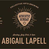 Abigail Lapell  Acoustic Sunday Hamilton