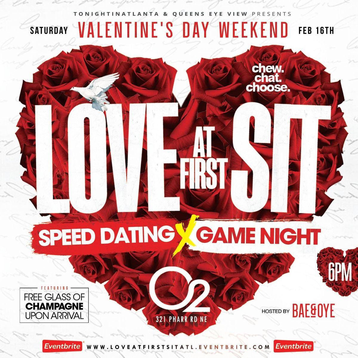 LoveAtFirstSit [ SPEED DATING x GAME NIGHT ] at O2 LOUNGE