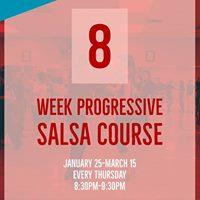 8 week Progressive Salsa Course - Beginners