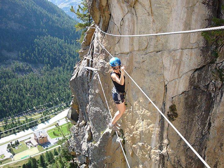 Klettersteig La Resgia : Klettersteig la resgia pontresina laufen auf dem röntgenweg at