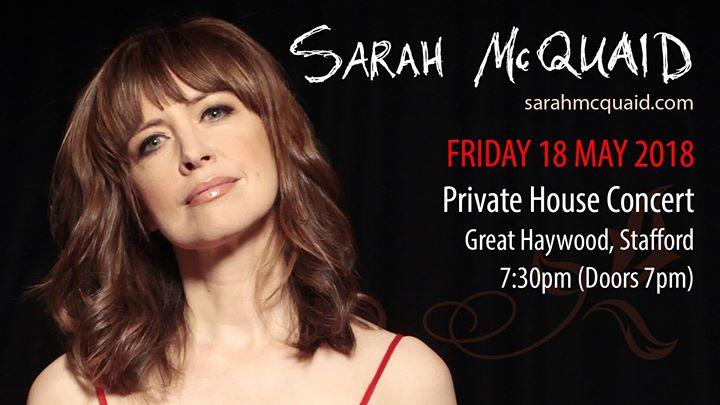 Sarah McQuaid - Private House Concert