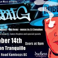 Robbie G Boom Bap Tour with James Hughes and special guests