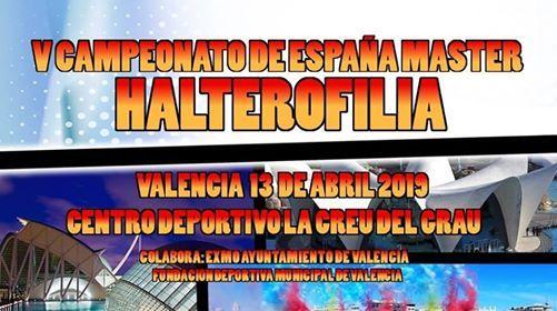 V Campeonato De Espaa Mster Halterofilia