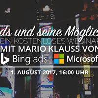 Webinar Bing Ads und seine Mglichkeiten