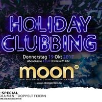 Do 19102017 Holiday Clubbing meets moon13
