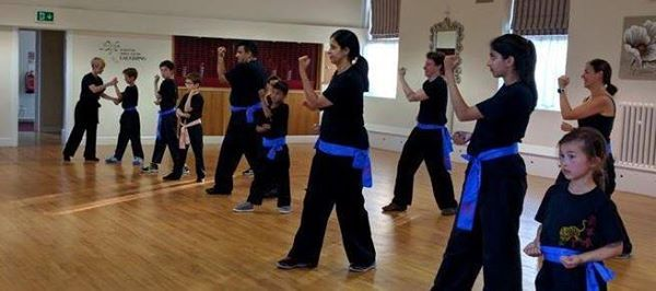 Beginners and lower grades class. Stafford.