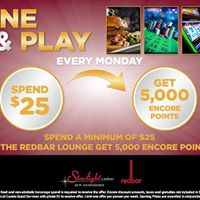 Dine &amp Play Mondays  in JULY