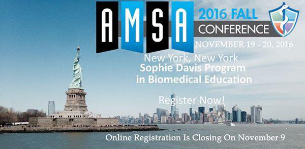 Amsa Fall Conference At Cuny School Of Medicine Sophie Davis