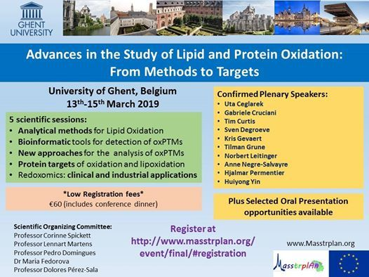 Advances in the Study of Lipid and Protein Oxidation