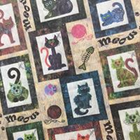 Redding - Cats Meow Quilt Top Session 2