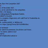 Dakhina 2nd Film Competition 2017