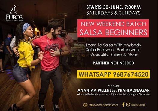 Salsa Weekends - New Beginner Batch (Free Demo)