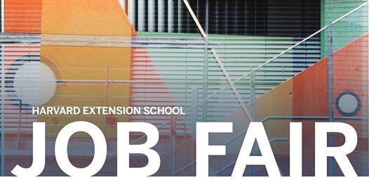 Harvard Extension School Degree Students & Alumni Job Fair