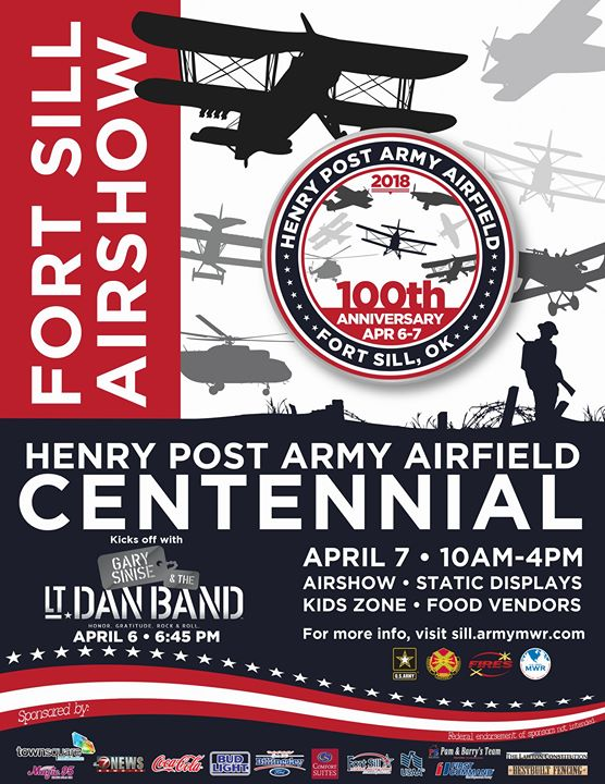 HPAAF Centennial and Concert at Henry Post Army Airfield