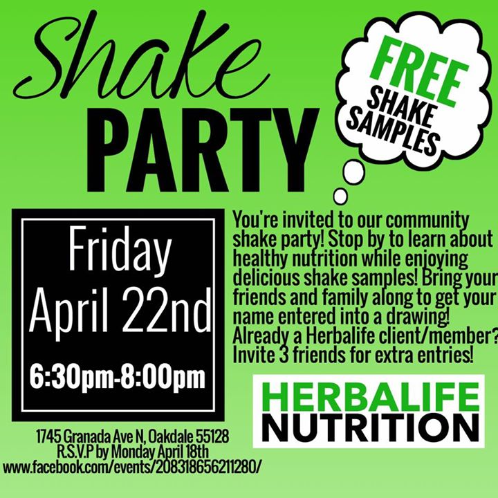 HERBALIFE Shake Party at Cottage Homesteads Of Aspen Saint Paul