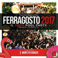 Central Park Latina Ferragosto 2017 Pool Party