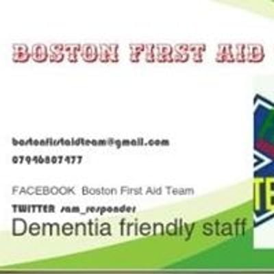 Boston First Aid Team