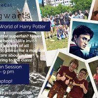 UC Hogwarts Decal ApplicationInfo Session