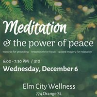 Meditation &amp The Power of Peace