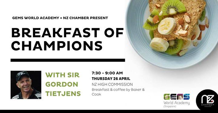 Breakfast of Champions with Sir Gordon Tietjens