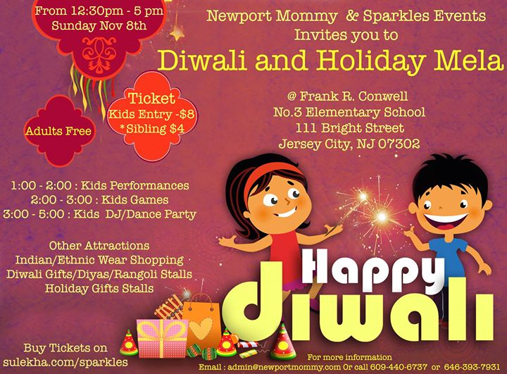 diwali information for kids